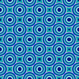 Blue modern geometrical abstract background Stock Photo
