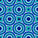 Blue modern geometrical abstract background Royalty Free Stock Photos