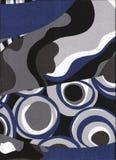 Blue modern pattern Stock Photos
