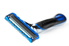 Blue Modern Razor Royalty Free Stock Images