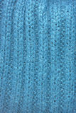 Blue mohair texture Stock Image
