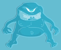 Blue monster Stock Images