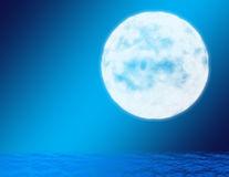 Blue Moon Stock Photos