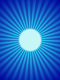 Blue moon backround, full, rays. Shining full blue moon. Vector illustration, background. Moon rays Stock Images