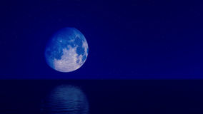 Blue Moon 04 Stock Photography