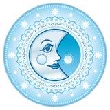 Blue moon Stock Image