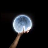 Blue moon Royalty Free Stock Photo