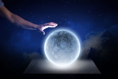 Blue moon Stock Photography
