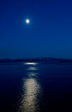 Blue Moon Over Alaska Stock Image