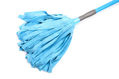 Blue mop for floor Royalty Free Stock Images
