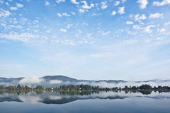 Blue morning Royalty Free Stock Images
