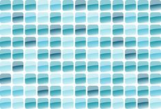 Blue mosaic. Blue glass mosaic in the various shape Royalty Free Stock Photos