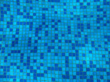 Blue mosaic Stock Photos