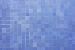 Blue mosaic. Home blue tiles can be used as a background Royalty Free Stock Images