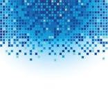 Blue mosaic royalty free illustration