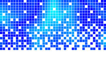 Blue mosaic Royalty Free Stock Photography