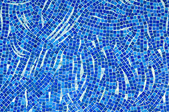 Blue mosaic Royalty Free Stock Photos