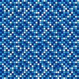Blue mosaic. Background. Swimming-pool concept or texture Royalty Free Stock Image