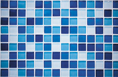 Blue mosaic Royalty Free Stock Image