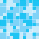 Blue Mosaic. Vector image of rectangles, good for background and pattern for graphical composition Royalty Free Stock Image