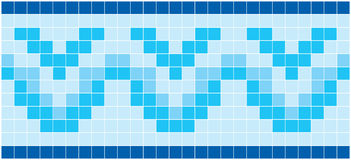 Blue Mosaic. Image of rectangles, good for background and pattern for graphical composition Royalty Free Stock Images
