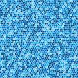 Blue Mosaic Royalty Free Stock Photo