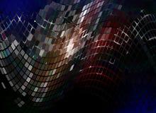Blue mosaic04 Stock Image