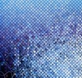 Blue mosaic01 Royalty Free Stock Image