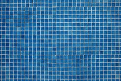 Blue mosaic background Royalty Free Stock Photo