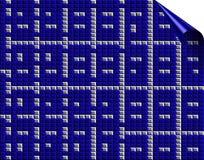 Blue mosaic background Royalty Free Stock Photos
