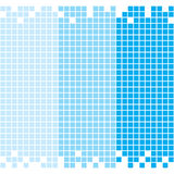 Blue Mosaic Background. Vector illustration of seamless mosaic background Royalty Free Illustration