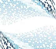 Blue mosaic background vector illustration