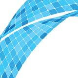 Blue mosaic background Stock Photography