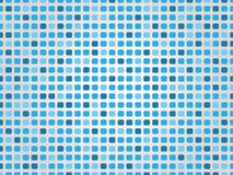 Blue mosaic background. Vector illustration Stock Images