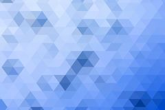 Blue Mosaic Background Stock Photo