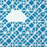 Blue mosaic background Royalty Free Stock Images