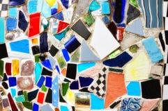 Blue Mosaic Royalty Free Stock Photography