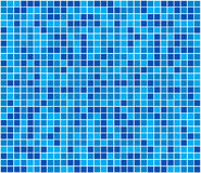 Blue mosaic illustration Royalty Free Stock Photography