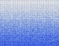 Blue mosaic pattern Stock Images