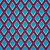 Blue mosaic seamless pattern. (eps 10 Royalty Free Stock Image