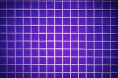 Blue mosaic texture Stock Image