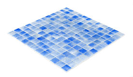 Blue mosaic,texture Royalty Free Stock Image