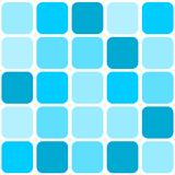 Blue mosaic tile background Stock Image