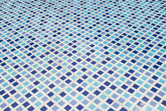 Blue mosaic tile Royalty Free Stock Image