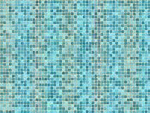 Blue mosaic tiles Royalty Free Stock Photography