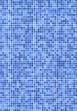 Blue mosaic tiles Royalty Free Stock Image
