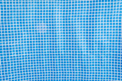 Blue mosaic tiles texture Royalty Free Stock Image