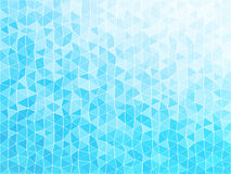 Blue mosaic triangle texture. Simple blue mosaic triangle texture Stock Image