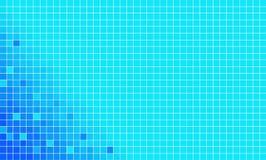 Blue mosaic vector Stock Photo