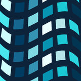 Blue mosaic vector background Royalty Free Stock Image